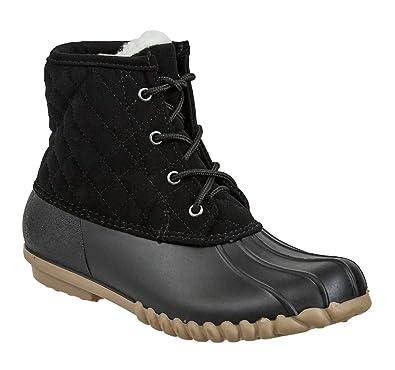 8548ede7d75 Amazon.com | Olem Outwoods Women's Autumn-12 Duck Boot | Shoes