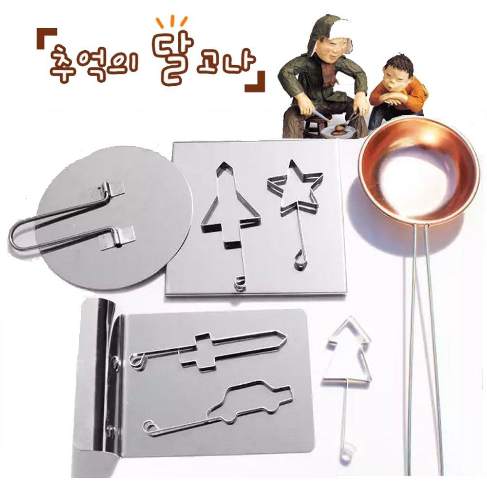 韓国Sugar Candy ( Dalgona、ppopgi ) Cooking Set from Exoショータイム B015OFEV7I