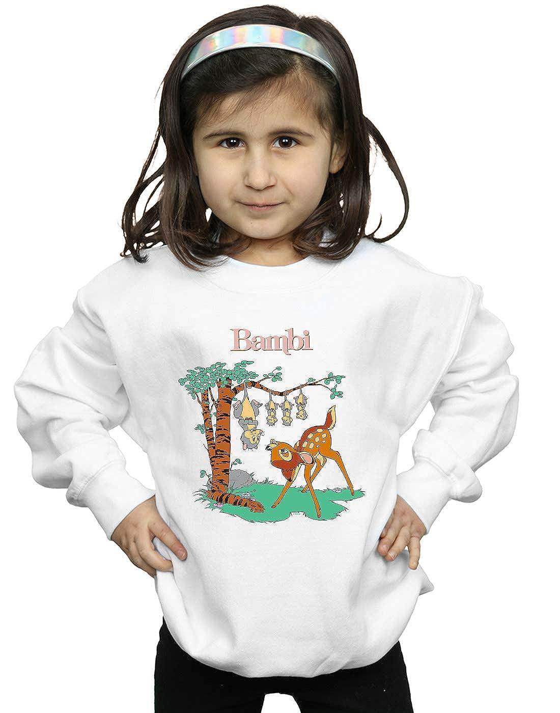 Disney Girls Bambi Tilted Up Sweatshirt