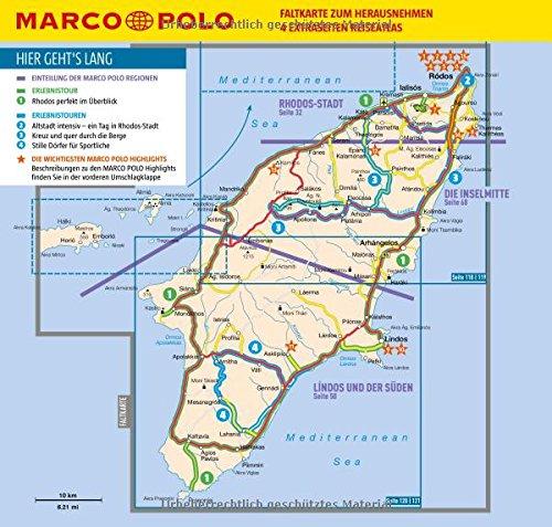 Rhodos Karte Mit Sehenswürdigkeiten.Marco Polo Reiseführer Rhodos Reisen Mit Insider Tipps Inkl