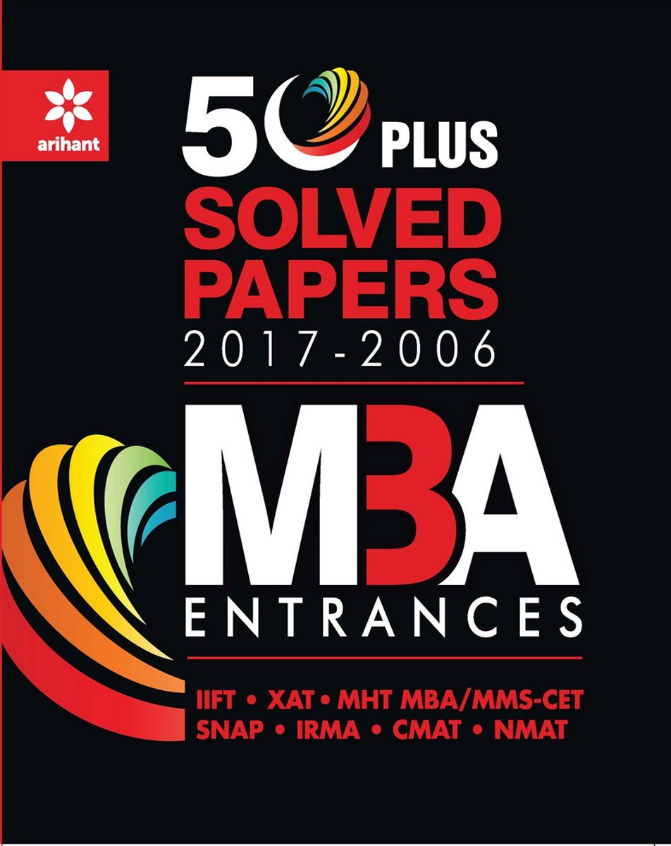 Buy 50 Plus Solved Papers MBA Entrances Book Online at Low