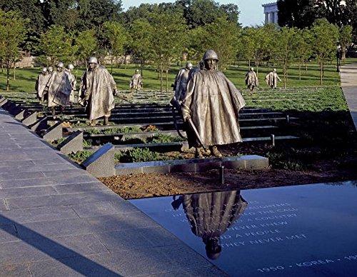 HistoricalFindings Photo: Korean War Veterans Memorial,South Potomac Park,Washington,DC,Carol Highsmith,1 (Korean Memorial The War)