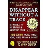 DISAPPEAR WITHOUT A TRACE - BE INVISIBLE TO BIG BROTHER & ANONYMOUS ONLINE - PROTECT FAMILY, HOME, MONEY, ASSETS, PRIVACY & SECURITY (How To Be Invisible) (HOW TO BOOK & GUIDE TO AVOID DISASTER 1)