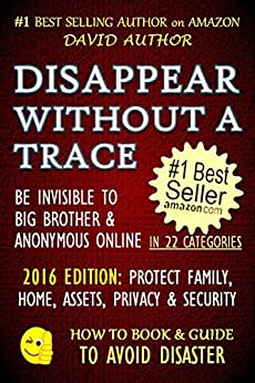 DISAPPEAR WITHOUT TRACE INVISIBLE Invisible ebook product image