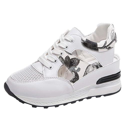 YWLINK Zapatos Mujer Moda Zapatos De TacóN Alto Transpirable ...
