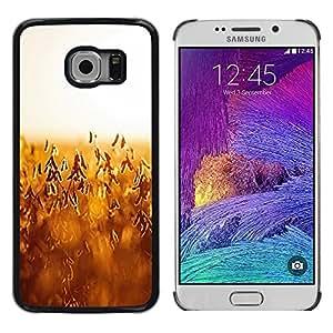 Be Good Phone Accessory // Dura Cáscara cubierta Protectora Caso Carcasa Funda de Protección para Samsung Galaxy S6 EDGE SM-G925 // Autumn harvest