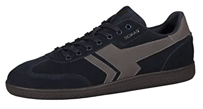 Boras SOCCA 3541 0721 Sneaker Amazon Leder navy graphite  Amazon Sneaker   Schuhe ... 09047a