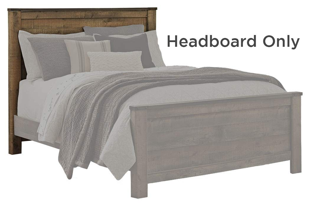Ashley Furniture Signature Design - Trinell Queen Panel Headboard - Component Piece - Brown by Signature Design by Ashley