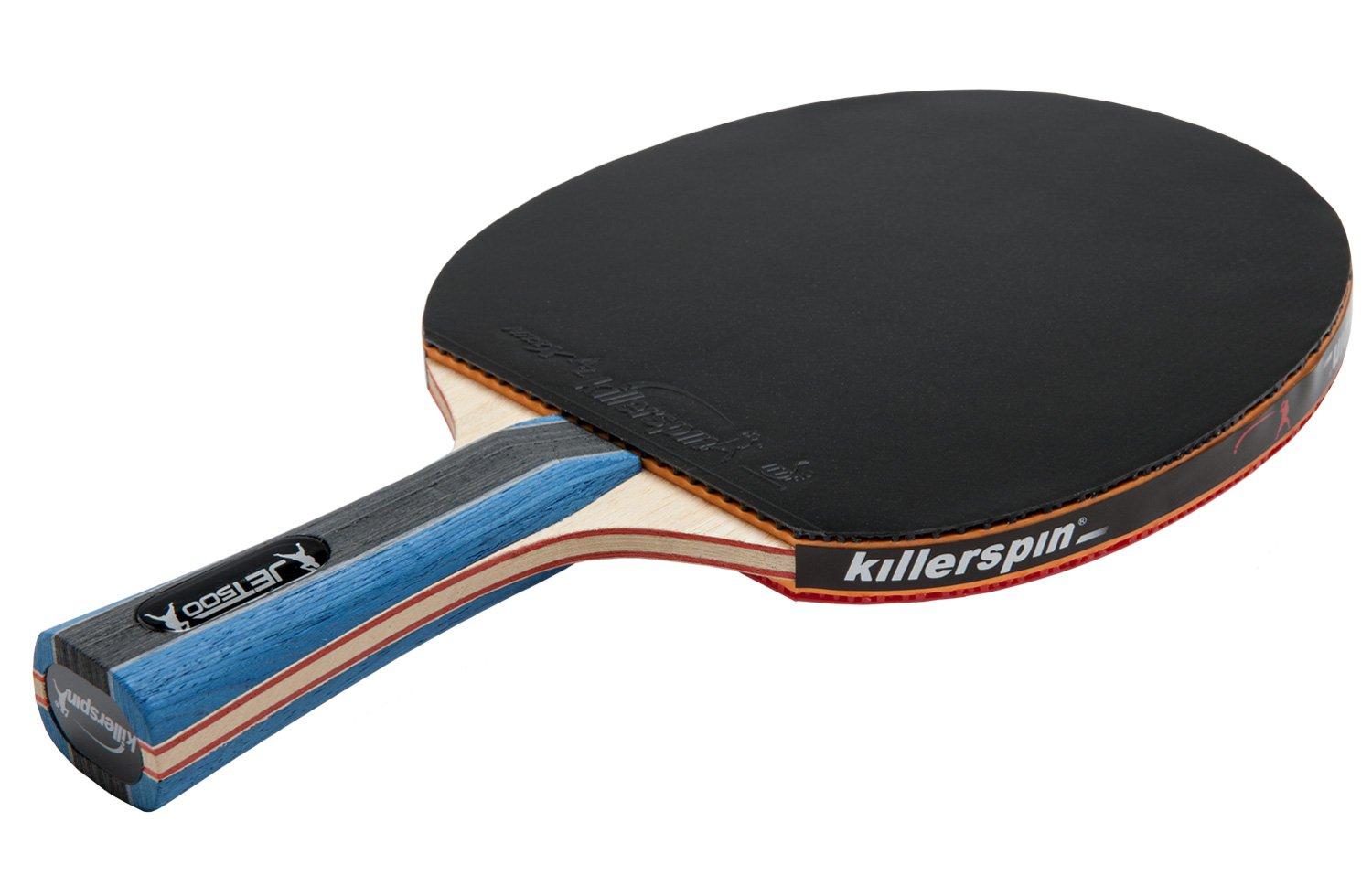 Killerspin JET500 Table Tennis Paddle – A Perfect Ping Pong Combination of Power and Finesse for Intermediate Players