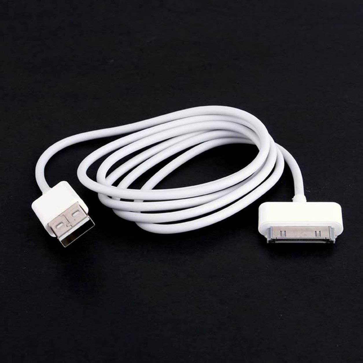 Dailyinshop C/âble de donn/ées de synchronisation de Chargeur USB Portable de Bonne qualit/é pour iPod Nano Touch C/âble de Chargement du Chargeur de donn/ées pour iPod Blanc