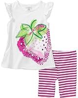 Leimnshi キッズ 子供用 女の子 イチゴ 綿パジャマ ナイトウェア ハーフパンツセッ