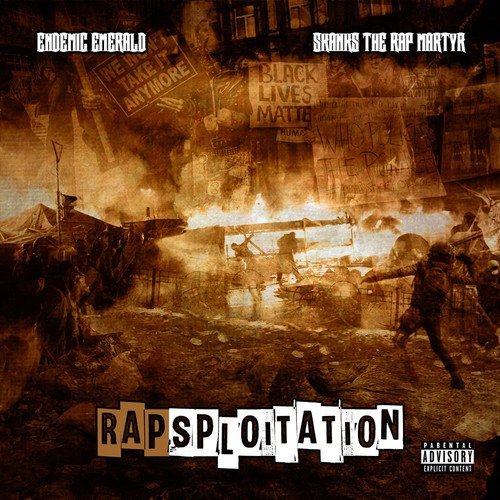 Endemic Emerald And Skanks The Rap Martyr - Rapsploitation - CD - FLAC - 2017 - FrB Download