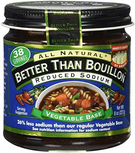 Broths: Better Than Bouillon Reduced Sodium