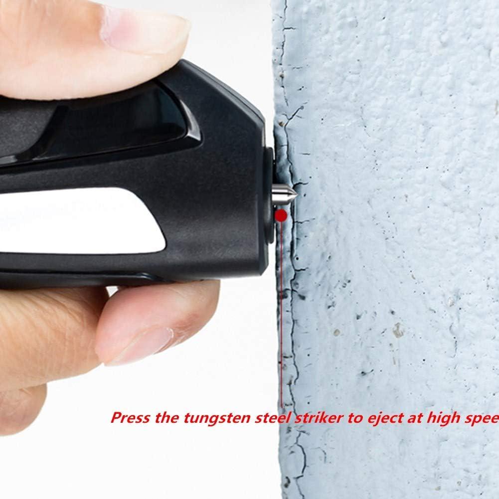 Tarjeta Rompe Cristales Y Cinturones Martillo Coche Rompe Cristales Coche herramienta de Escape Accesorios de coche Coche Kit de seguridad Black,One Size