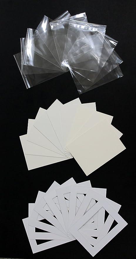Pack de 20 a medida ordenador cortar foto/imagen soportes/Soportes ...
