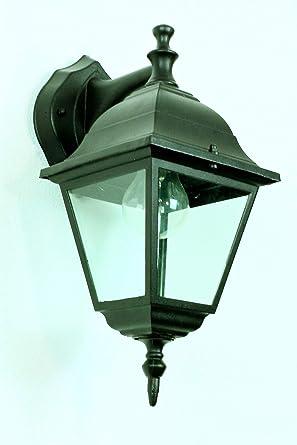 Außenlampe Laterne Schwarz Rustikal Garten & Terrasse Beleuchtung