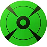 """Target Stickers Self Adhesive Targets for Shooting Adhesive Shooting Targets Fluorescent Green Label (Qty 250pcs 3"""")"""