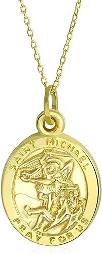 14K Yellow Gold Religious Pendant For Women Men Pendant Collection
