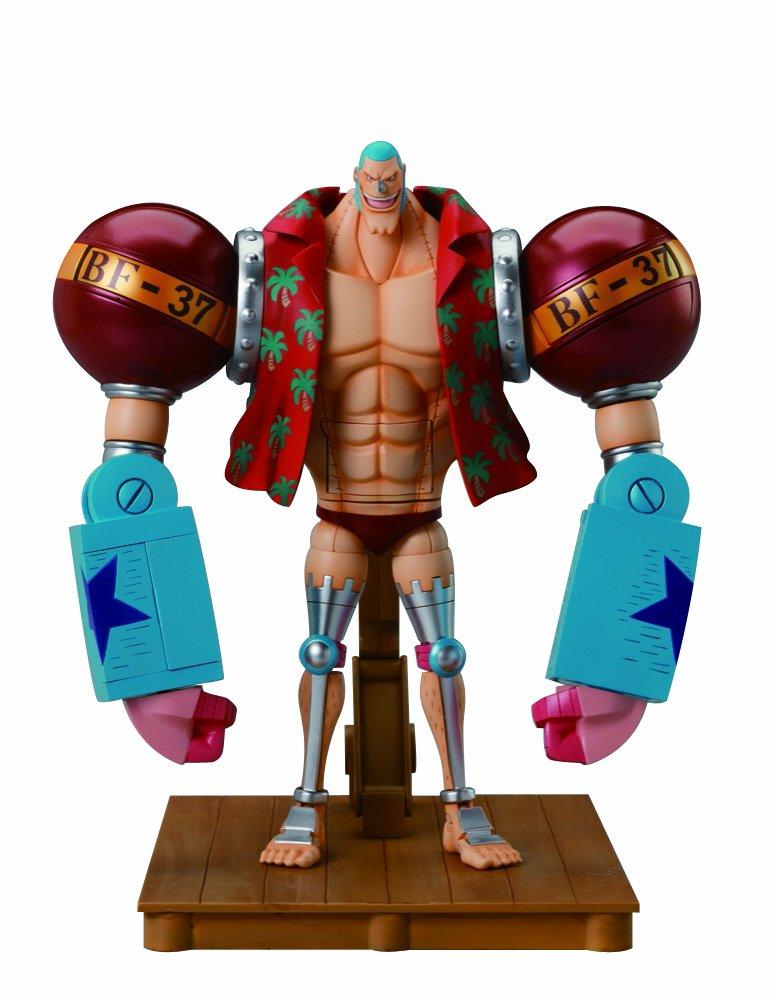 One Piece Chogokin Deluxe Figur  Franky   Frankie 19 cm
