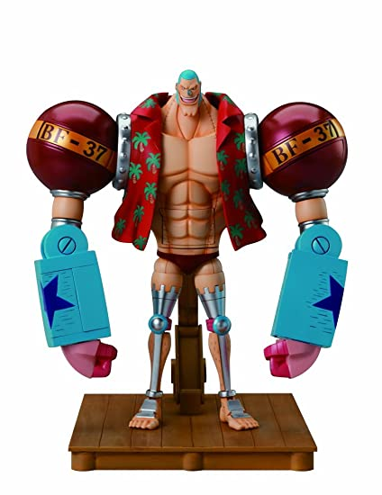 Amazoncom Bandai Tamashii Nations Franky One Piece Bandai