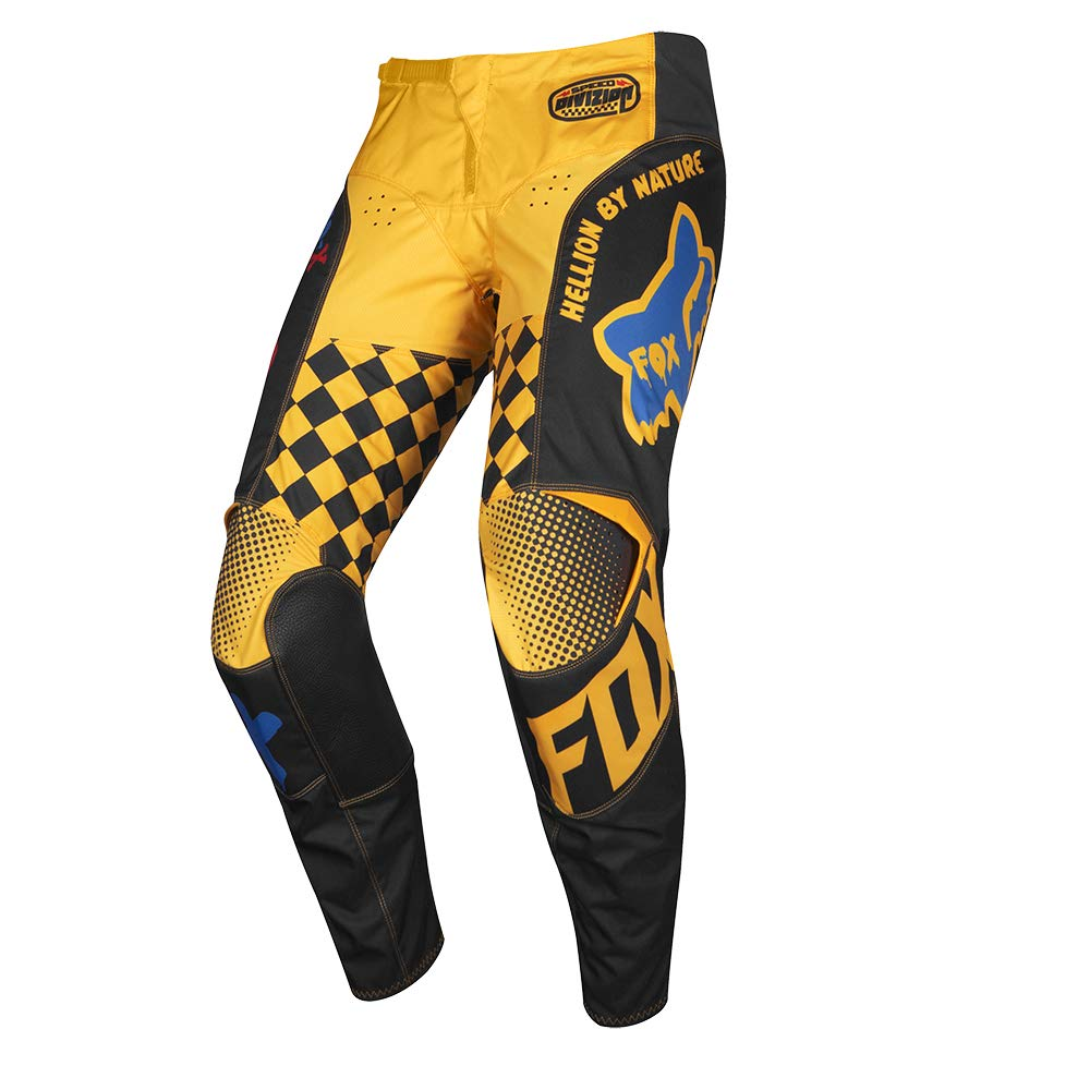 2019 Fox Racing 180 Czar Pants-Black/Yellow-38 by Fox Racing