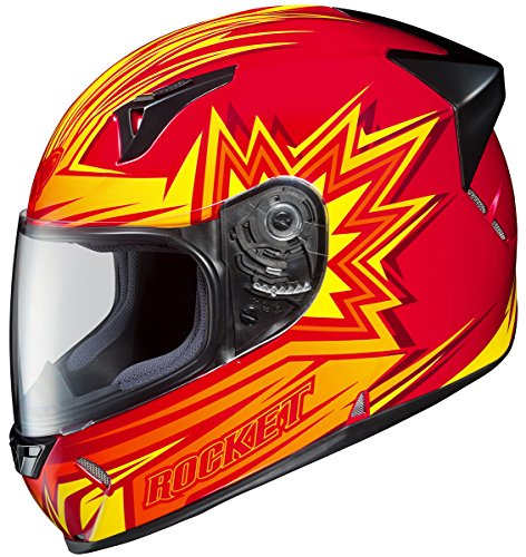 Joe Rocket R1000X Blaster Full-Face Motorcycle Helmet (MC-1, XX-Large) ()