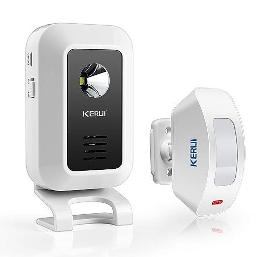 KERUI M7 Alarma de timbre inalámbrica, Sensor de Movimiento ...