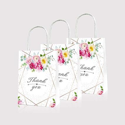 Amazon.com: LJCL - 12 bolsas de regalo para caramelos de ...