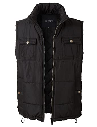 LE3NO Men's Down Active Puffer Vest Jacket at Amazon Men's ...