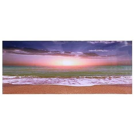 Nannday Decoración del Tanque de Peces, Efecto Playa ...