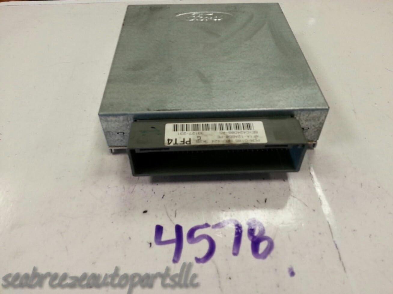 2004 Ford Taurus 3.0L 4F1A-12A650-PD Engine Computer ECM PCM ECU HBO-424