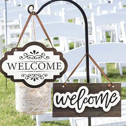 Amazon.com: Cartel de bienvenida de boda de Noche de viernes ...