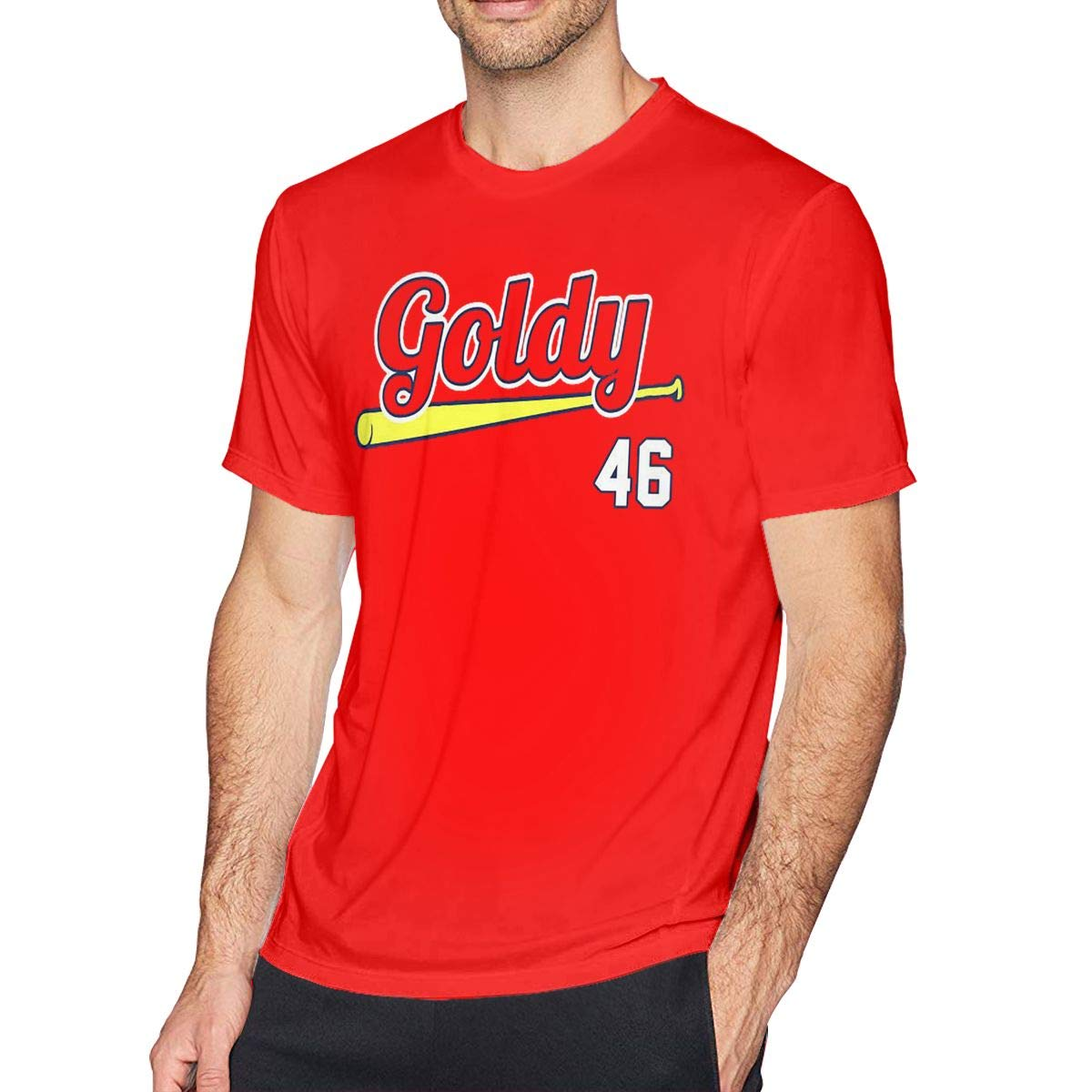 Red St Louis Goldschmidt Goldy S Short Sleeve Tshirt Comfortable Red