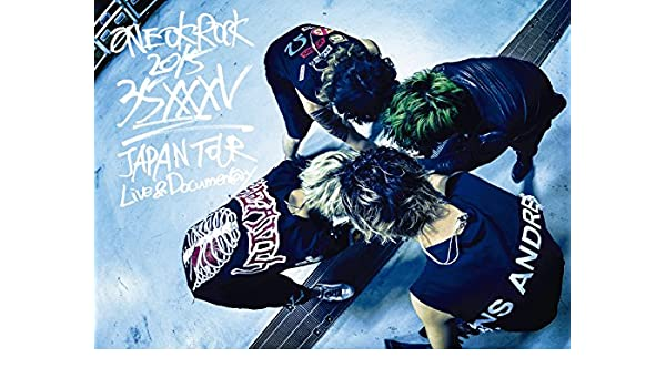 "Amazon.com: ONE OK ROCK 2015 ""35xxxv"