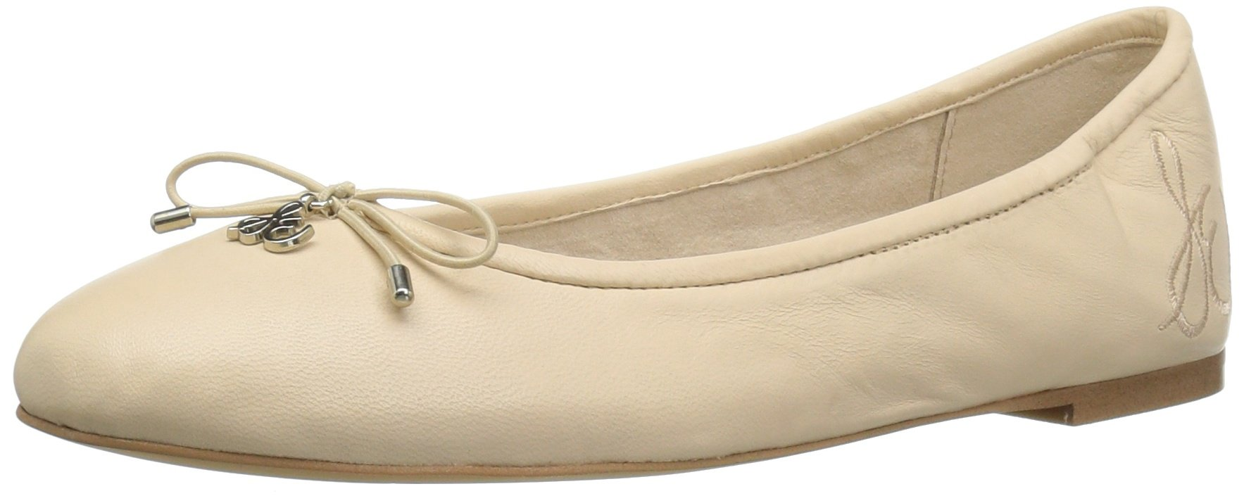 Sam Edelman Women's Felicia Ballet Flat, Summer Sand Leather, 6.5 M US