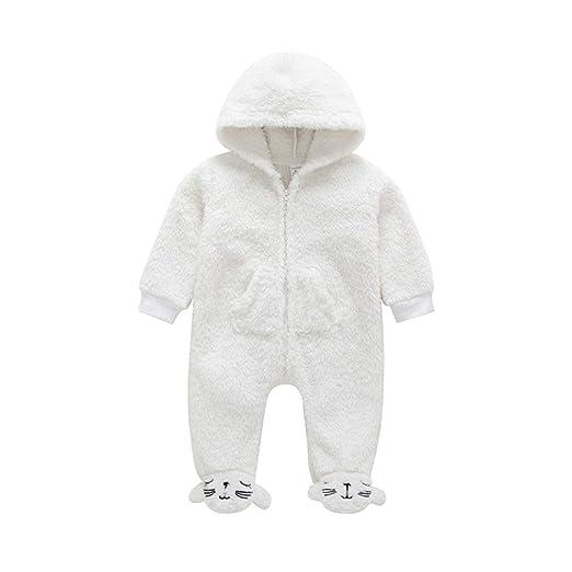 4a9c65292 sportsmanship Newborn Baby Boys Girls Clothes Solid Zipper Long Sleeve  Hooded Romper Toddler Kids Cotton Autumn