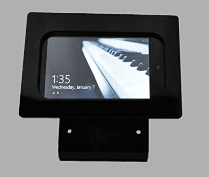 Store Display TABcare Compatible Nexus 9 Black Security Desktop Stand for POS Kiosk Square Card Reader