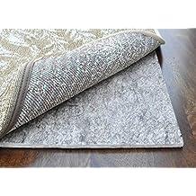 Premium Non-Slip Rug Pads for Hardwood Floors, Felt & Rubber Area Rug Padding - Ultra Black 22 ® - 20 Year Guarentee - MADE IN USA (2x3)
