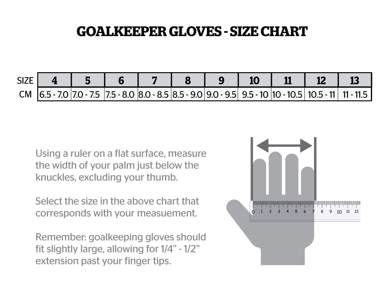 Storelli Gladiator Pro 2 Goalkeeper Gloves |High Perfomance Soccer  Goalkeeper  Gloves |Highest Grade German Latex |Sweat-Wicking|Black by Storelli (Image #3)