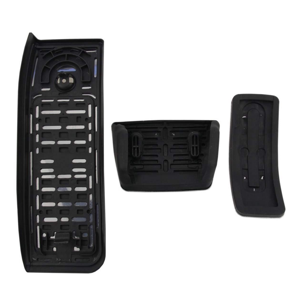 para A4 B9 A5 S5 Q5 80A TDI TSI S-line transmisi/ón autom/ática Tapones de pedal de acero inoxidable FFZ Parts