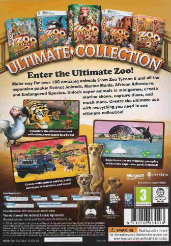 Zoo tycoon 2 ultimate collection full download   Zoo tycoon