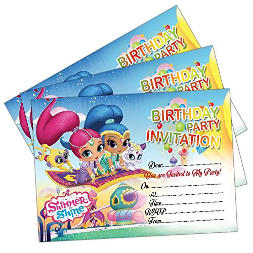 16 A6 Little Kids Birthday Party Invitations Mine Theme Invites Blank Cards