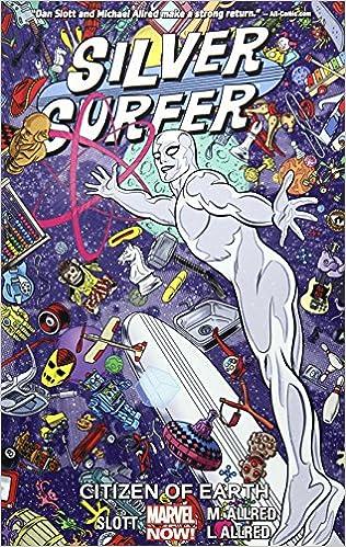 Amazon com: Silver Surfer Vol  4: Citizen of Earth (9780785199694