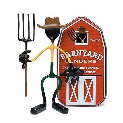 Hog Wild Barnyard Benders, Farmer: Toys & Games