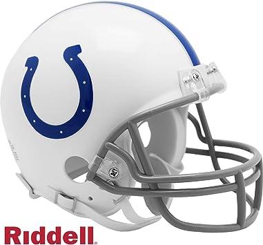 Amazon Com Indianapolis Colts New 2020 Logo Vsr4 Riddell Mini Football Helmet Sports Collectibles