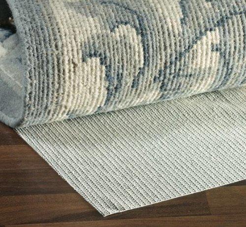 Non slip Hard Surface Rug Pad, 2'x4', NATURAL