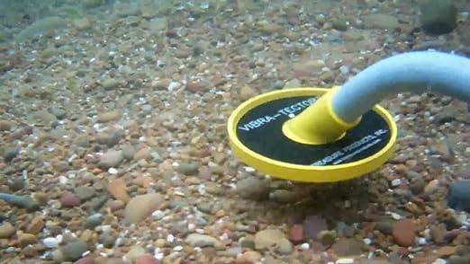 Metal detector portátil sumergible Treasure Vibra Tector 730 cerca Metal Hierro: Amazon.es: Electrónica