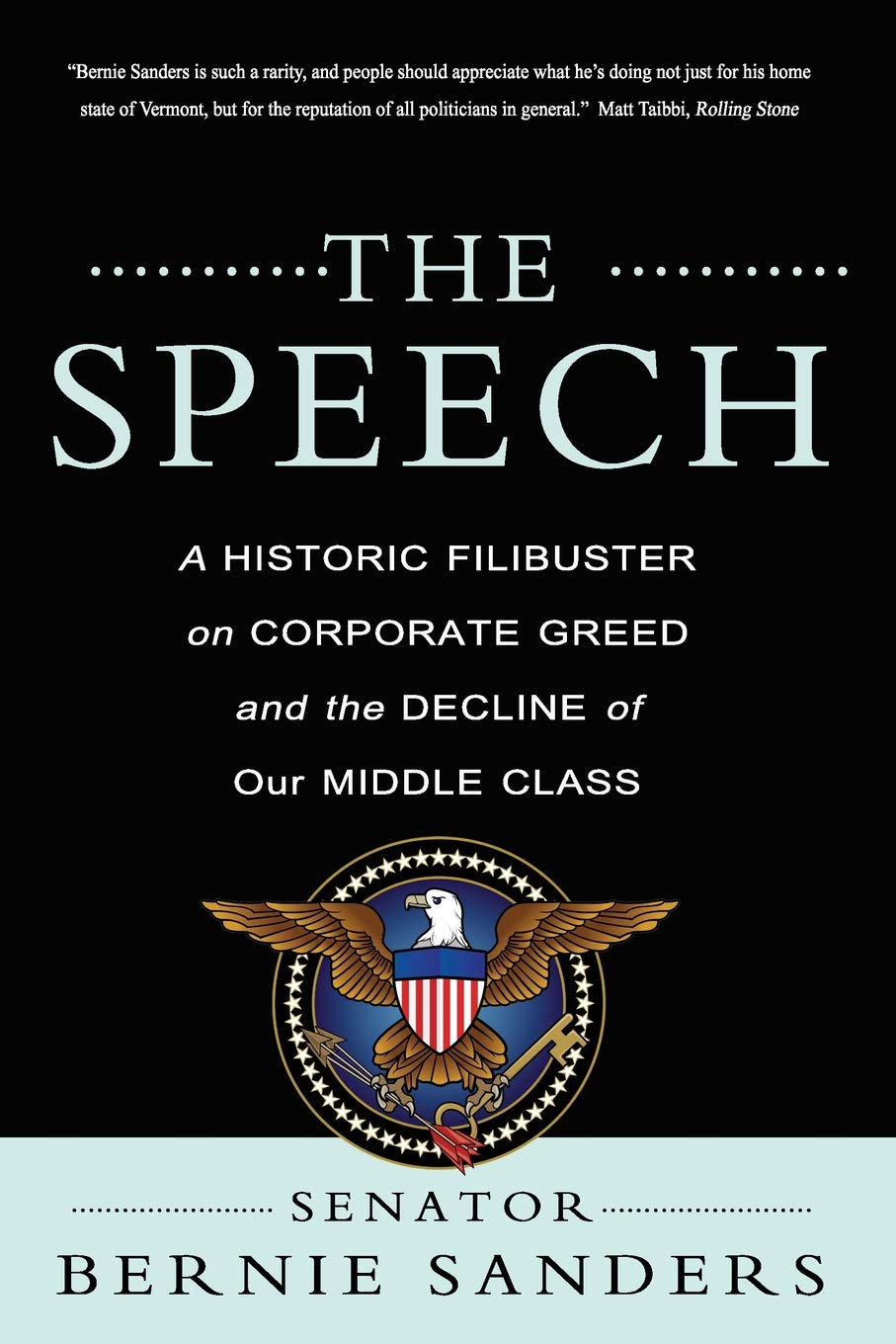 The Speech A Historic Filibuster On Corporate Greed And The Decline