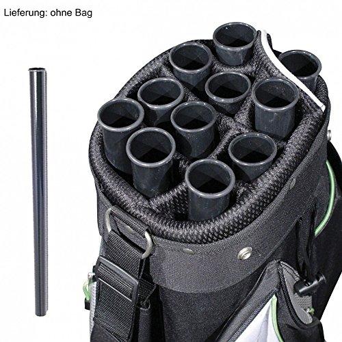 10x Bag Tube - Golfballröhre - Golfbag-Röhren - Schlägerröhren - Devider für Golfbag (Lieferumfang 10 Stück !!!)