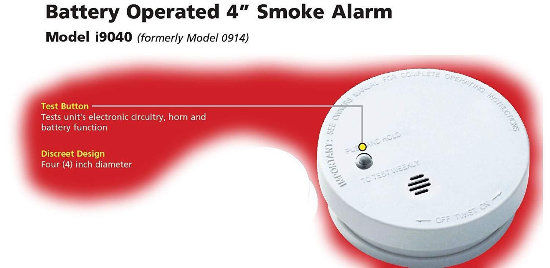 KIDDE 9040EU TWIN PACK MICRO SMOKE ALARMS